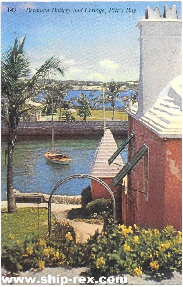 Bermuda Buttery & Cottage - postcard